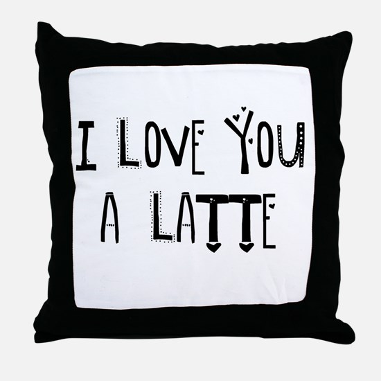I love you mom Throw Pillow
