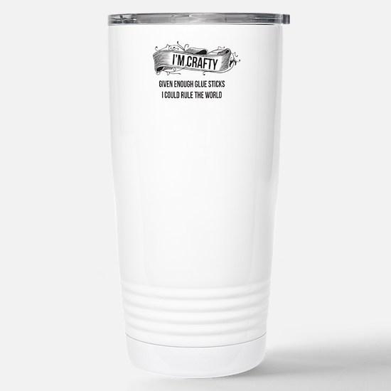 I'm Crafty Travel Mug