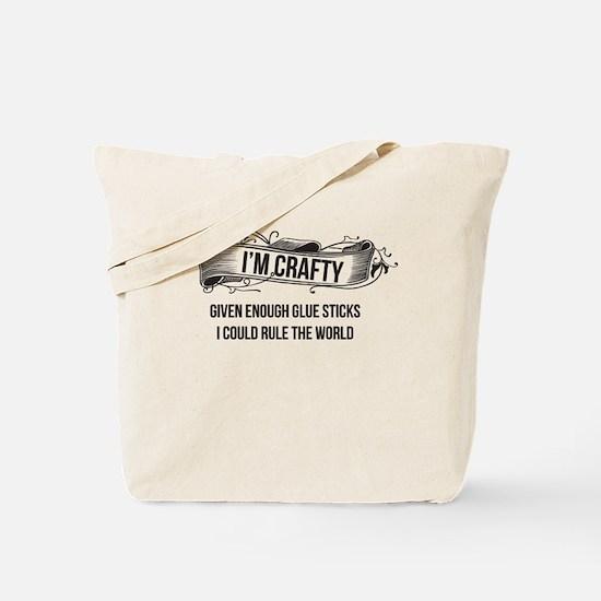 I'm Crafty Tote Bag