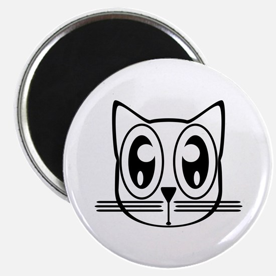 Cute Cat face Magnet