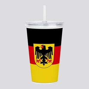 German COA flag Acrylic Double-wall Tumbler