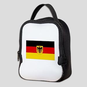 German COA flag Neoprene Lunch Bag
