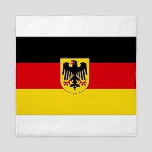 German COA flag Queen Duvet
