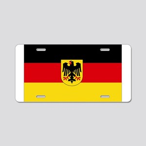German COA flag Aluminum License Plate