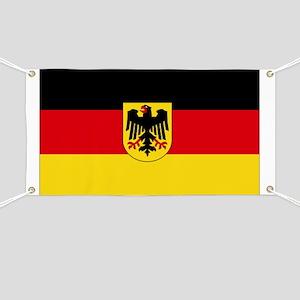 German COA flag Banner