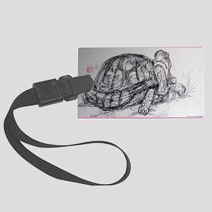 Turtle, tortoise, nature art Luggage Tag