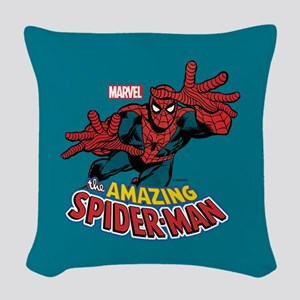 Spider-Man Classic Woven Throw Pillow