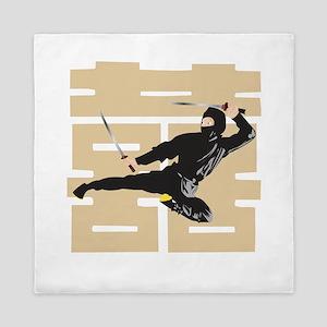 Ninja Samurai Queen Duvet