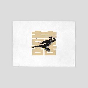 Ninja Samurai 5'x7'Area Rug