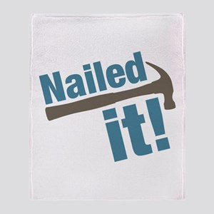 Nailed It Throw Blanket