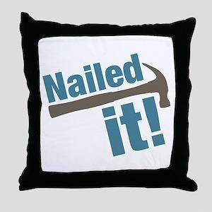 Nailed It Throw Pillow