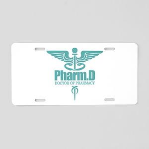 PharmD Aluminum License Plate
