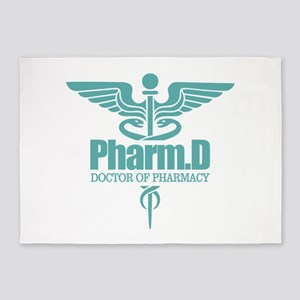 PharmD 5'x7'Area Rug