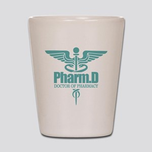PharmD Shot Glass