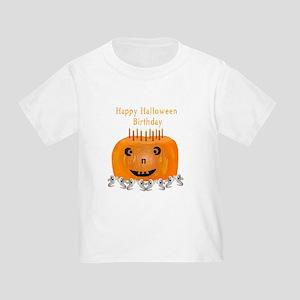 Halloween Birthday Toddler T-Shirt