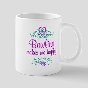 Bowling Happy Mug