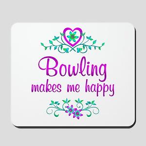Bowling Happy Mousepad