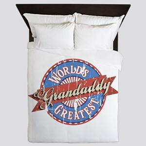 World's Greatest Grandaddy Queen Duvet