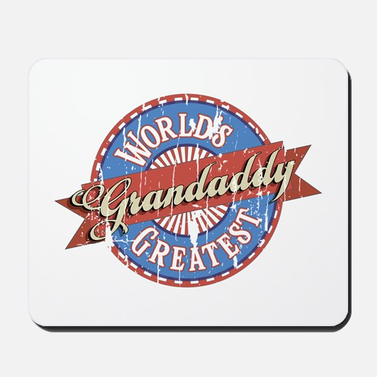 World's Greatest Grandaddy Mousepad