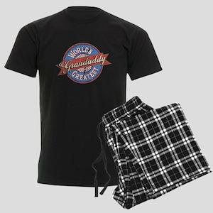 World's Greatest Grandaddy Men's Dark Pajamas