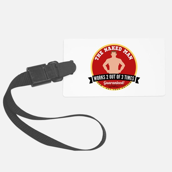 HIMYM Naked Man Luggage Tag