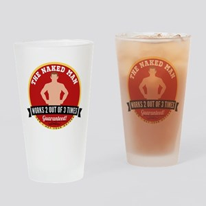 HIMYM Naked Man Drinking Glass