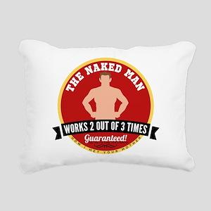 HIMYM Naked Man Rectangular Canvas Pillow
