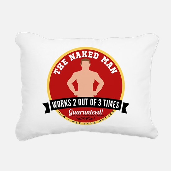 HIMYM Naked Man Rectangular Canvas Pillow