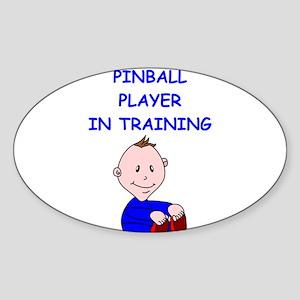 i love pinball Sticker