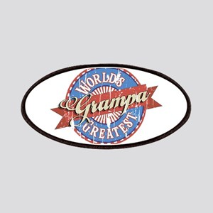 World's Greatest Grampa Patches