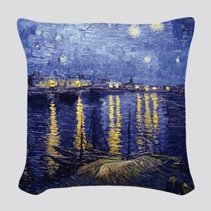 Starry Night Over the Rhone by Van Gogh Woven Thro