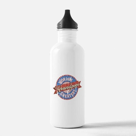 World's Greatest Grand Sports Water Bottle