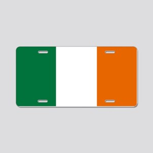 Ireland Aluminum License Plate