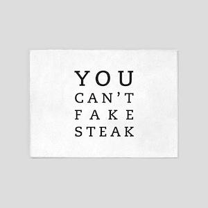 Steak 5'x7'Area Rug