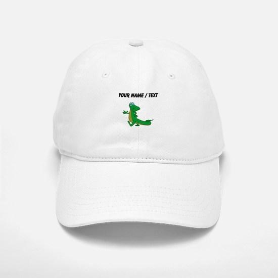 Custom Cartoon Alligator Baseball Baseball Baseball Cap