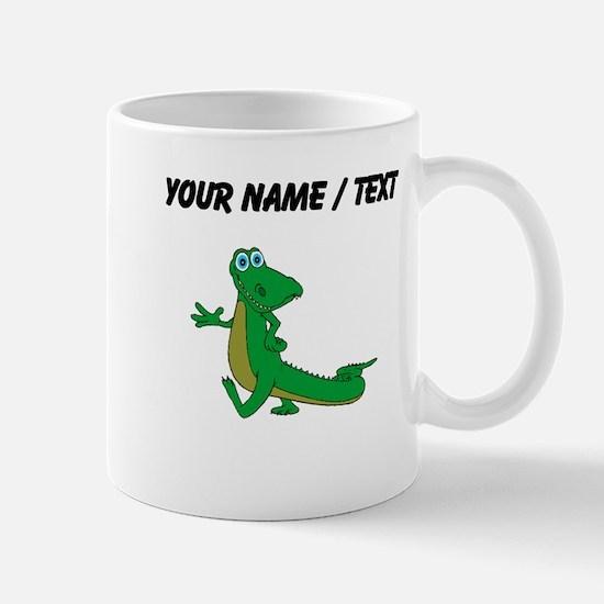 Custom Cartoon Alligator Mugs