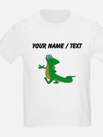 Custom Cartoon Alligator T-Shirt