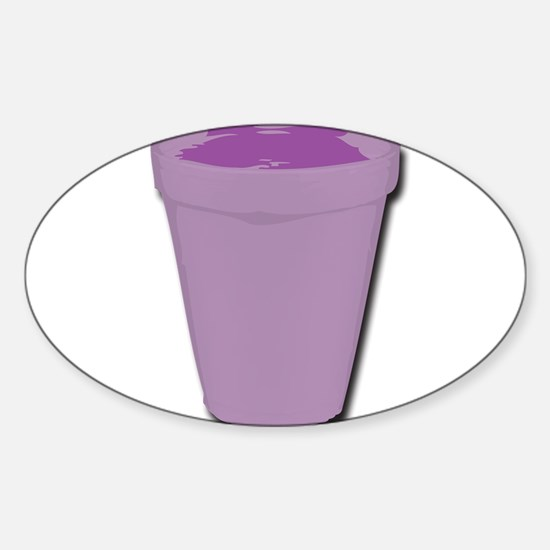 Purple cup Decal