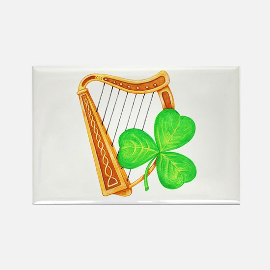 Harp and Clover Magnets