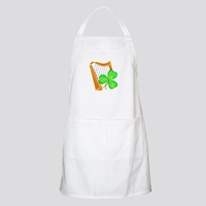 Harp and Clover Apron