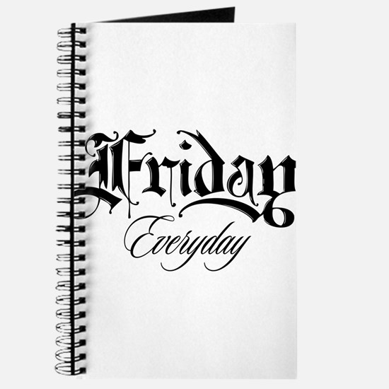 Friday Everyday Journal