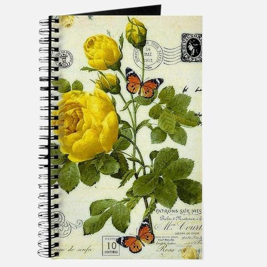 Cute Yellow rose Journal