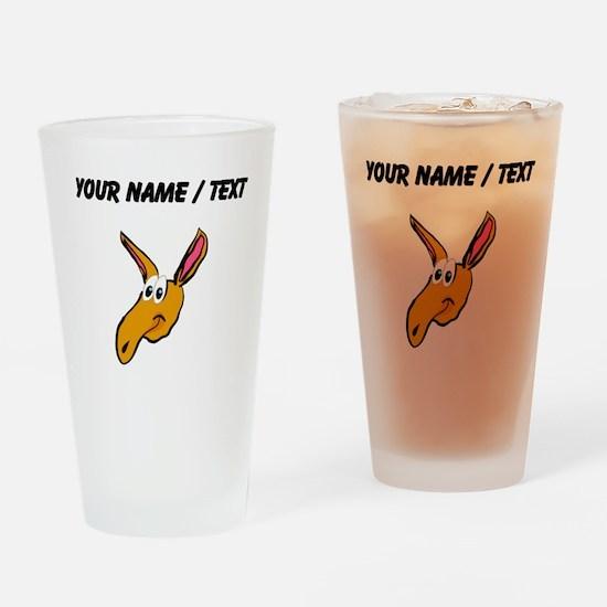 Custom Aardvark Drinking Glass