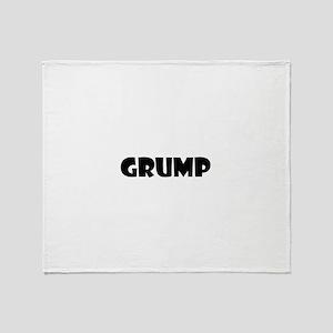 Grump Throw Blanket
