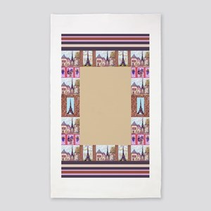 Paris Eiffel Tower inspired art Frame Border for 3