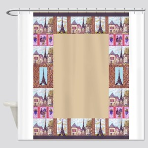 Paris Eiffel Tower inspired art Frame Border for 5