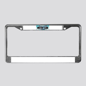 Meth Lab License Plate Frame