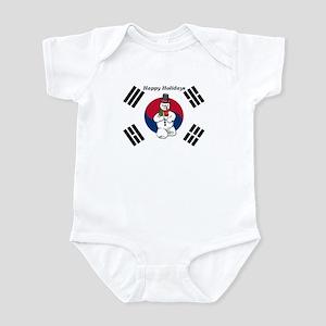 Taekwondo Christmas Infant Bodysuit