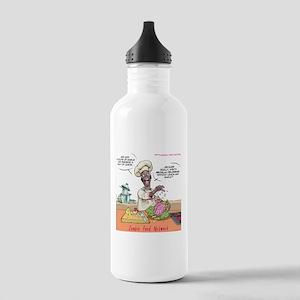 Zombie Food Network Water Bottle