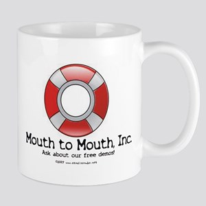 Mouth to Mouth ~ Beach Mug